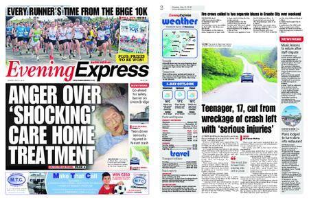 Evening Express – May 21, 2018