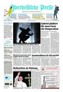Oberhessische Presse Marburg/Ostkreis - 27. Dezember 2017