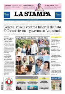La Stampa Torino Provincia e Canavese - 17 Agosto 2018