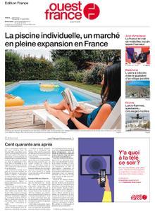 Ouest-France Édition France – 31 juillet 2021