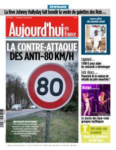 Aujourd'hui en France du Vendredi 11 Janvier 2019