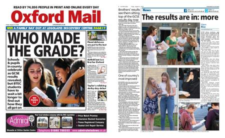 Oxford Mail – August 21, 2020