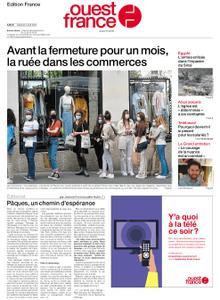 Ouest-France Édition France – 03 avril 2021