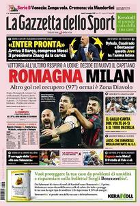 La Gazzetta dello Sport - 5 Novembre 2018