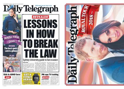 The Daily Telegraph (Sydney) – October 15, 2018