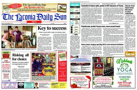 The Laconia Daily Sun – December 08, 2017
