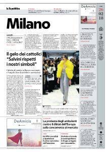 la Repubblica Milano - 26 Febbraio 2018