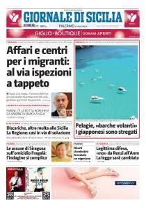 Giornale di Sicilia - 6 Maggio 2017
