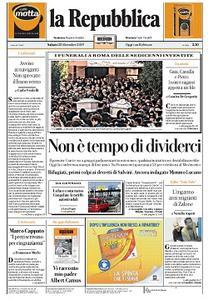 la Repubblica - 28 Dicembre 2019