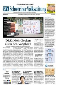 Schweriner Volkszeitung Hagenower Kreisblatt - 27. Juni 2020