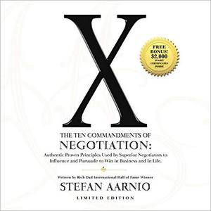 X: The Ten Commandments of Negotiation [Audiobook]