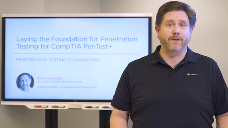 Laying the Foundation for Penetration Testing for CompTIA PenTest+
