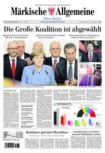 Märkische Allgemeine Dosse Kurier - 25. September 2017