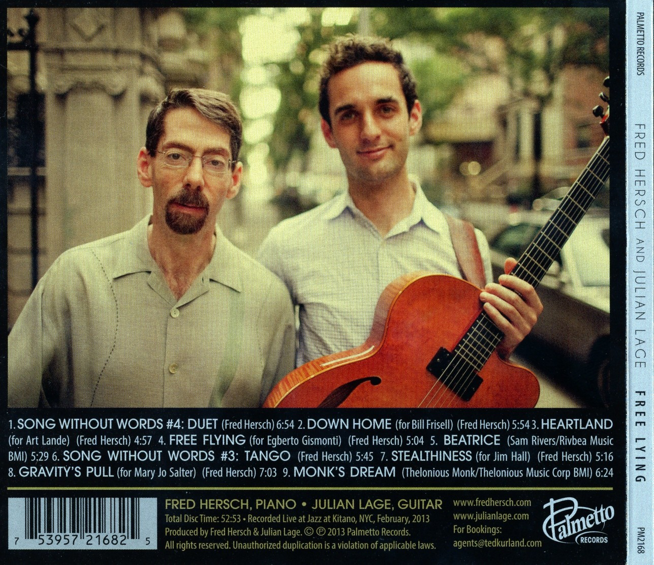 fred hersch  julian lage free flying