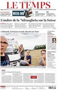 Le Temps - 13 juillet 2019