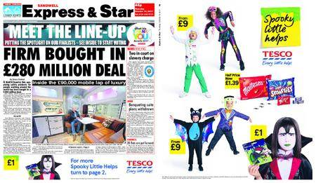 Express and Star Sandwell Edition – October 19, 2017