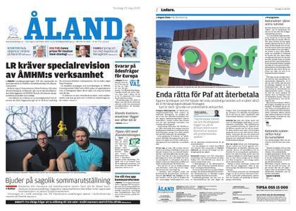 Ålandstidningen – 23 maj 2019