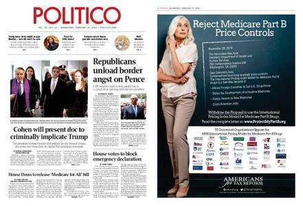 Politico – February 27, 2019