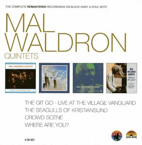 Mal Waldron - The Complete Remastered Recordings On Black Saint & Soul Note (2012) {4CD Set CAM Jazz BXS 1014}