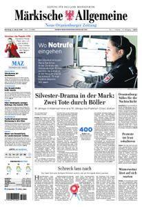 Neue Oranienburger Zeitung - 02. Januar 2018