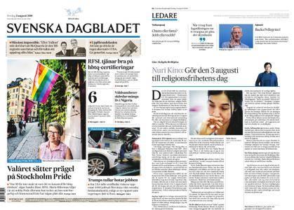Svenska Dagbladet – 03 augusti 2018