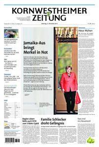 Kornwestheimer Zeitung - 21. November 2017