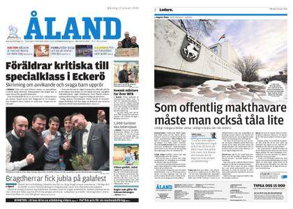 Ålandstidningen – 22 januari 2018