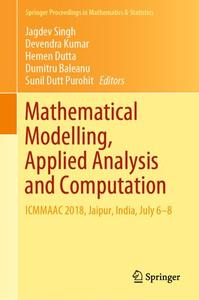 Mathematical Modelling, Applied Analysis and Computation