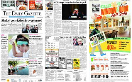 The Daily Gazette – September 27, 2017