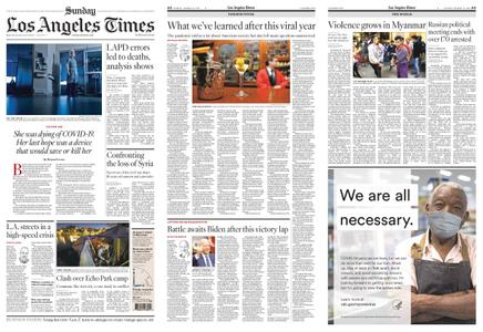 Los Angeles Times – March 14, 2021
