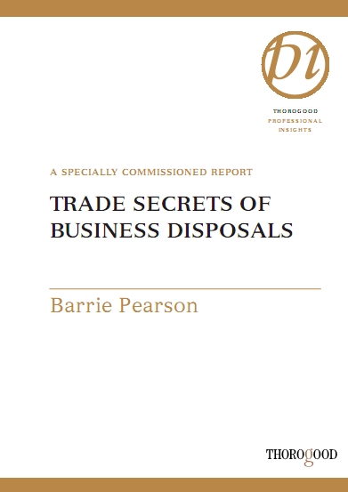 Barrie Pearson - Trade Secrets of Business Disposals