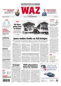 WAZ Westdeutsche Allgemeine Zeitung Oberhausen-Sterkrade - 23. Januar 2018