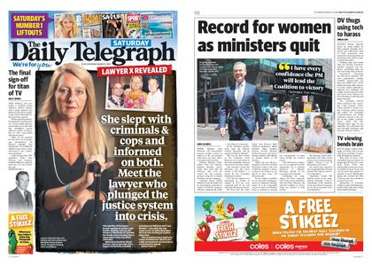 The Daily Telegraph (Sydney) – March 02, 2019