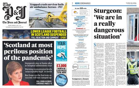The Press and Journal Moray – January 12, 2021