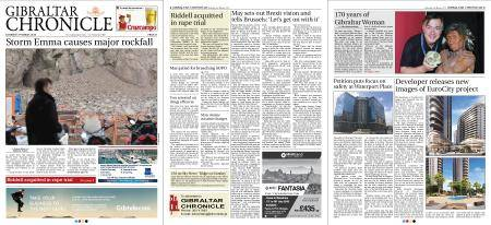 Gibraltar Chronicle – 03 March 2018
