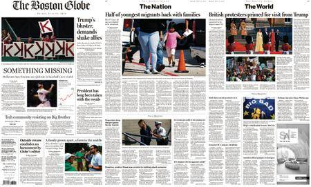 The Boston Globe – July 13, 2018