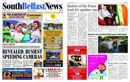 South Belfast News – August 23, 2018