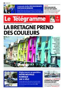 Le Télégramme Brest Abers Iroise – 09 mai 2021