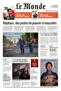 Le Monde du Samedi 29 Décembre 2018