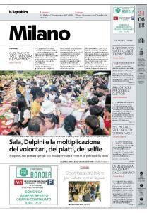 la Repubblica Milano - 24 Giugno 2018