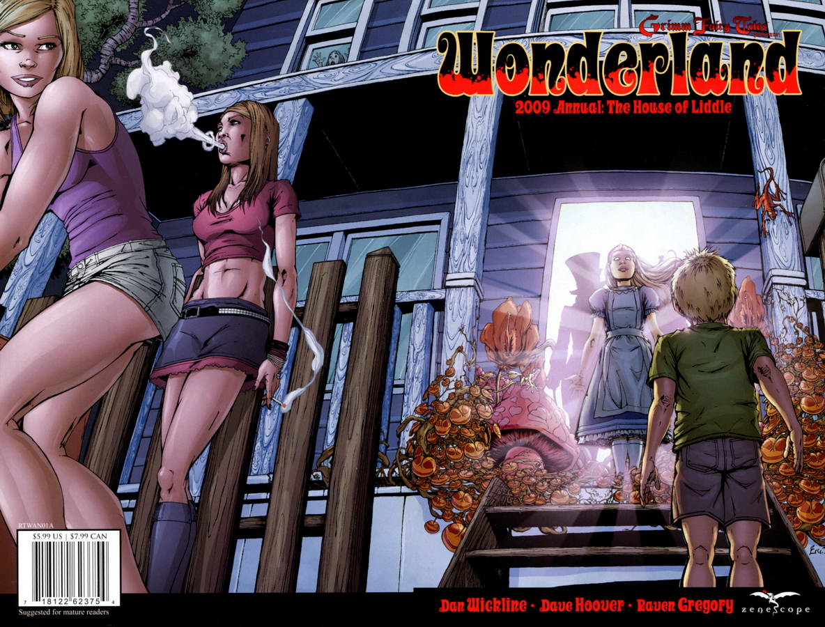 Grimm Fairy Tales -  Wonderland Annual #1 2009
