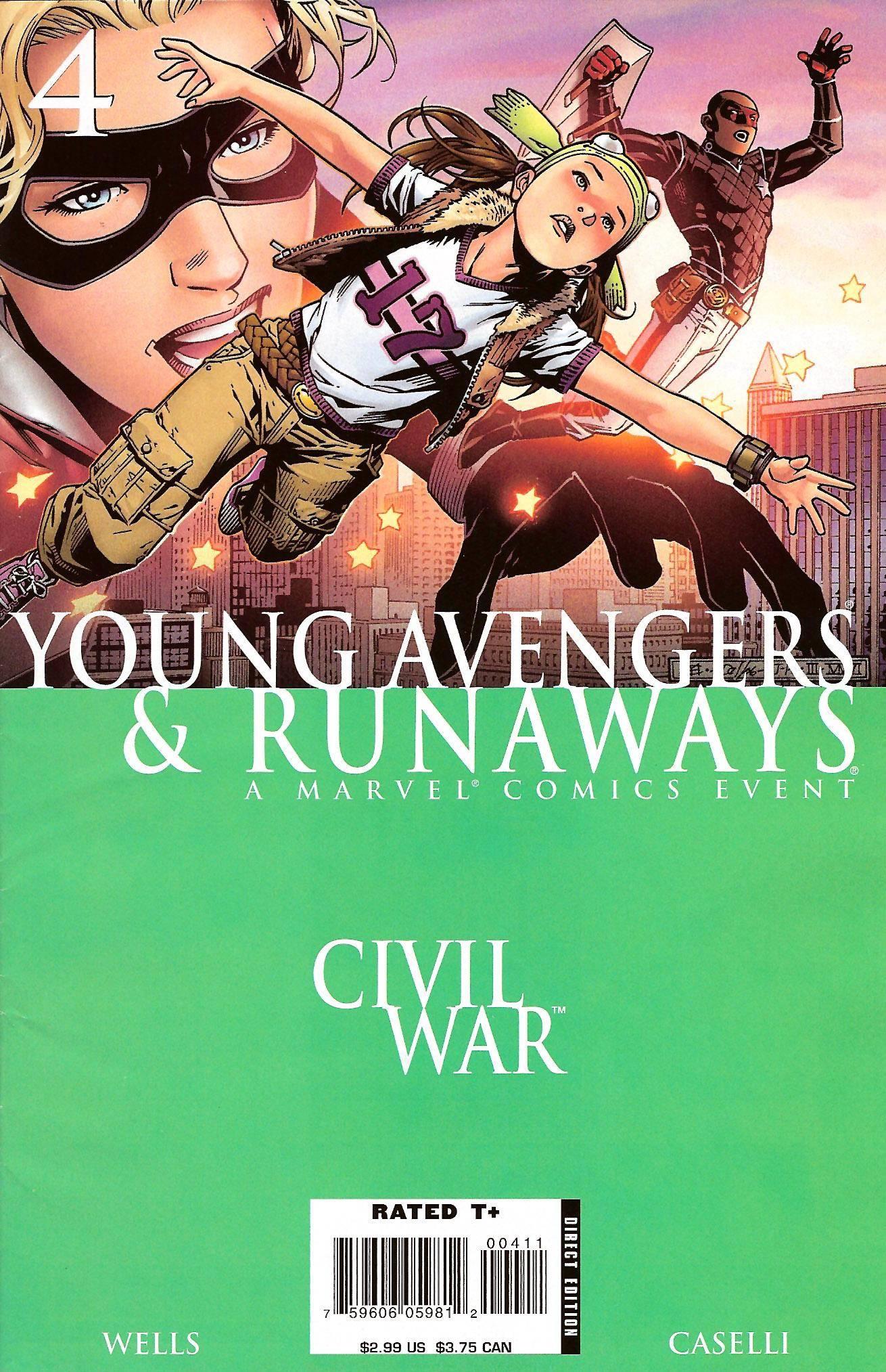 Civil War - Young Avengers  Runaways 04