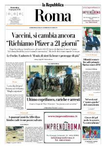 la Repubblica Roma - 13 Giugno 2021