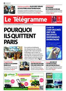 Le Télégramme Brest – 20 mars 2021