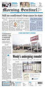 Morning Sentinel – March 12, 2020