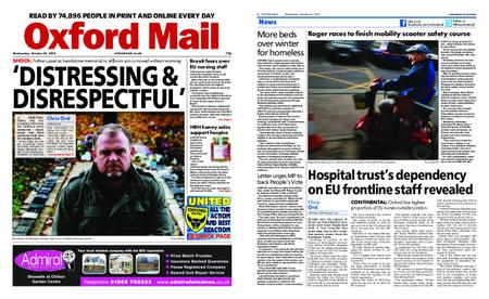 Oxford Mail – October 24, 2018
