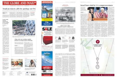 The Globe and Mail – August 16, 2019