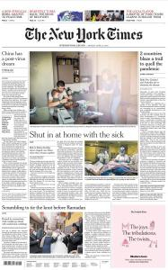 International New York Times - 27 April 2020