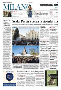 Corriere della Sera Milano – 09 dicembre 2018