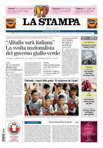 La Stampa Torino Provincia e Canavese - 19 Luglio 2018